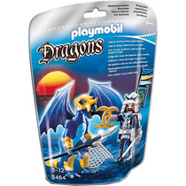 Playmobil 5464 Dragon Del Hielo Con Samurai