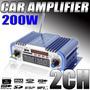 Mini Hi-fi Estéreo Del Amplificador De 200w Mp3 Ipod Moto