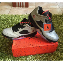 Zapatos Jordan Retro5 De Caballeros Talla 9 A La 10.5