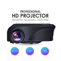 Proyector Video Beam Hdmi Vga Usb Led 1800 Lumen 200 Pulg