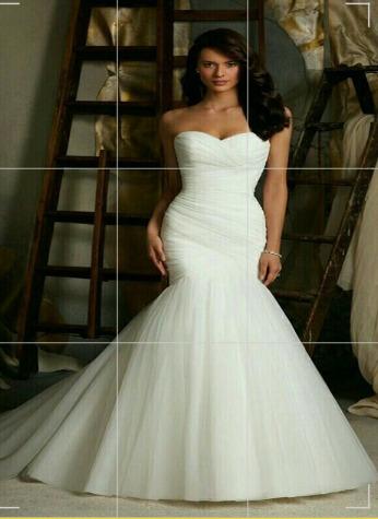 vestido de novia reloj de arena - s/ 299,00 en mercado libre