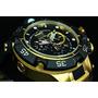 Relojes Invicta Mens Swiss Subaqua Noma V Gold 18kl Black