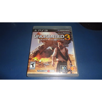 Jogo Uncharted 3 Drakes Deception Ps3 Dublado Original