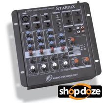 Mesa De Som Ll Starmix Us402r - 4 Canais