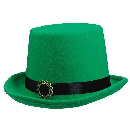 301245c208a19 Amscan St Patricks Day Fabric Top Hat (1 Piece)