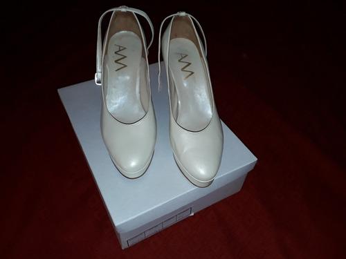zapatos de novia hechos a medida abel mingrino 37.5 - $ 2.200,00 en