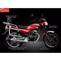 Moto Motor 1 Forte 150 Año 2016 Negro - Rojo - Azul