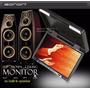 Eonon Pantalla Digital Monitor Flip Down 15.4 Pulg. - Black