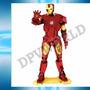 Rompecabezas Iron Man 3d Figura Metalicas Piezas Armables