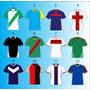 Camisetas De Fútbol. Armamos Tu Equipo Completo.diseños Vs