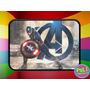 Cartuchera 2 Pisos Personalizada Capitan America Vengadores