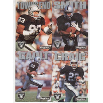 1992 Sky Box Impact Lote Los Angeles Raiders