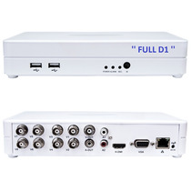 Kit Dvr Stand Alone 8 Canais Full D1 Hibrido Ip Com Hd 500gb