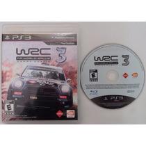 Wrc 3 World Rally Championship Ps3 Original + Mídia Física +
