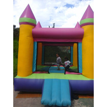 Colchon Inflable Castillo De 3x3 Mts Ideal Para Fiestas