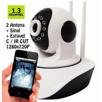 Camera Ip 1.3 Mp Alta Resolução Hd 720 P2p Noturna Wireless