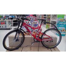 Bicicleta Rodada 26, 18 Velocidades M. Bimex Nueva C/casco