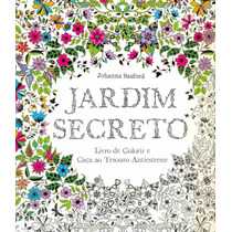 Livro Jardim Secreto - Livro De Colorir - Johanna Basford