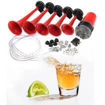 Claxon Tono Tequila Bocina Corneta Aire Universal Autos