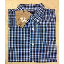 Camisa Cuadros Dockers Juvenil Casual Standar Fit Shirt