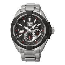 Reloj Luxury Seiko Snp101p1 Velatura Kinetic Stainless