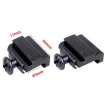 Red Dot Adaptador Conversor Trilho 20mm Para 11mm Frete Grat
