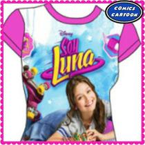 Hermosas Franelas Soy Luna Niñas Disney Moda Adolescentes