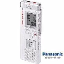 Gravador Panasonic Voz Digital Microfone Zoom 266 Horas Novo