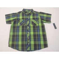 Camisas Para Niño Bebe Cuadros 1 Año Hm4