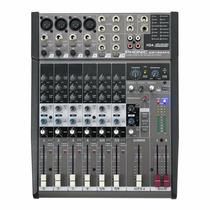 Mesa De Som Phonic Am1204fx 8 Canais C/ Efeito - Sound Store