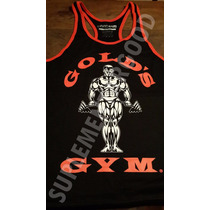 Musculosa Espalda Abierta Golds Gym Calidad Unica Fabricante