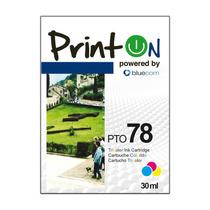 Printon Cartucho Compatible Con Hp #78, Tricolor , Pto78d