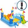 Playcenter Pileta Inflable Intex Castle Castillo + Inflador
