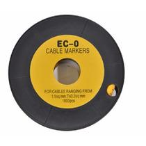 Identificador (anilha) Cabos E Fios Nº9. 1,5~2,5mm² 1000pçs