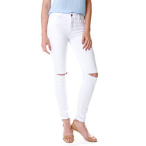 Calça Multi Ponto Denim Skinny Rasgos Color