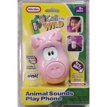 Juguete Oinky Cerdo Juego De Teléfono De Llamada De La Selv