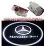Luz Led Proyector Logo Mercedes Benz Cortesia Originales