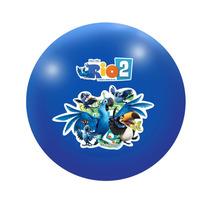 Bola Em Vinil Personagens Rio 2 Lider 2232 - Azul