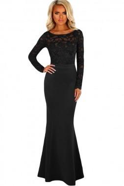 Vestido negro de noche mercadolibre