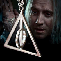 Collar Reliquias De La Muerte Harry Potter Giratorio.