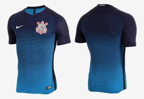 6d35adeaa7 Camisa 3 Corinthians Nike 2016 2017 Oficial - R  250