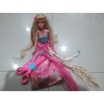 Barbie Peinados Magicos, Usada, Original Mattel, Importada