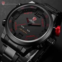Relógio Shark Sport Watch Gulper Analogico E Digital Quartz