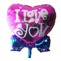 12 Globos Metalicos Gigantes 14 De Febrero Amor Y Amistad