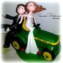 Adornos Para Torta De Boda- Casamiento- Novios Personalizado