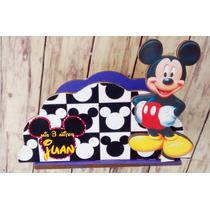 Servilleteros Souvenirs Mickey Mouse