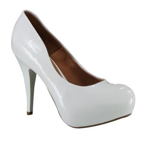 da1cd5bd63 Sapato Feminino Scarpin Vizzano Meia Pata Branco 1143309 - R  79