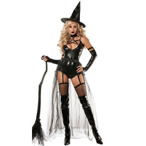 Disfraz Bruja Sexy Adulto Mujer Halloween Brujita