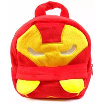 Mochila Homem De Ferro Infantil Bebê Escolar Vingadores Nova