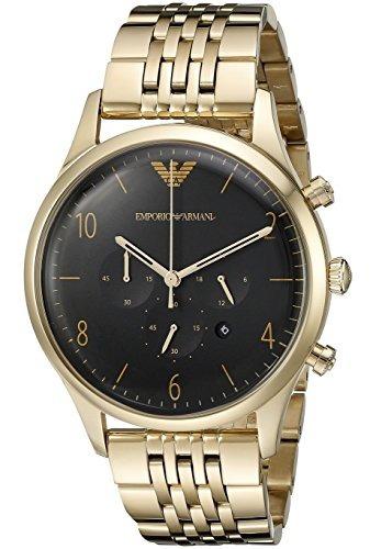 a03160151fbf Reloj Emporio Armani Para Hombre Ar1893 Vestido Dorado -   11